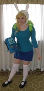 Adventure Time Costume Fionna