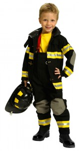 Fireman Halloween Costume Toddler