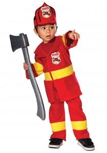 Fireman Toddler Costume