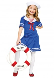 Kids Sailor Costume