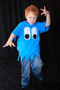 Pac Man Ghost Costume