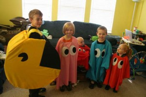 Pac Man Halloween Costume