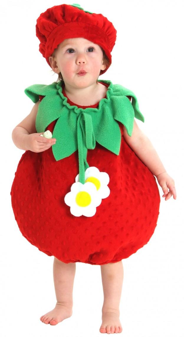 Strawberry Costume Baby