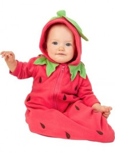 Strawberry Infant Costume