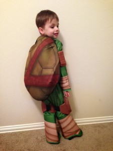 Toddler Teenage Mutant Ninja Turtle Costume