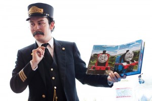Train Conductor Costume Photos