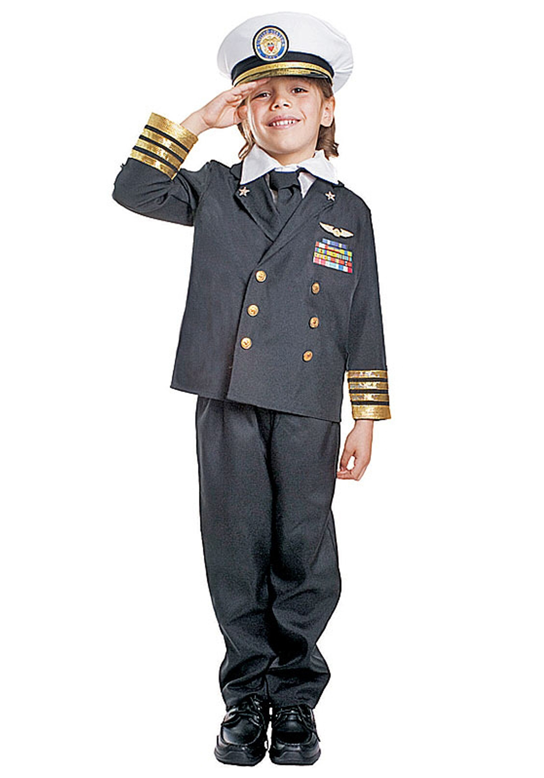 Airline Pilot Costume for Kids  sc 1 st  Costumes FC : pilot halloween costume toddler  - Germanpascual.Com