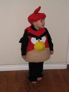 Angry Bird Costume Kids