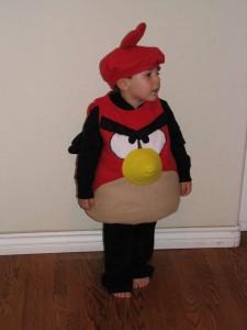 Angry Bird Costume Kids