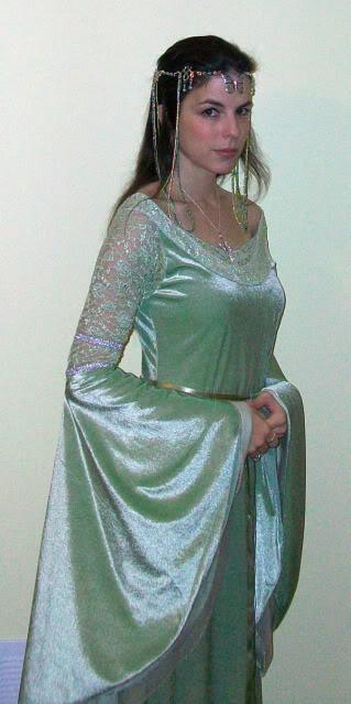 Lord Of The Rings Queen Arwen Costume