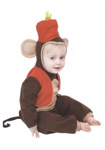 Baby Girl Monkey Costume