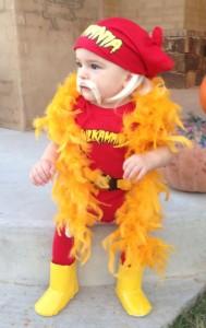 Baby Hulk Hogan Costume
