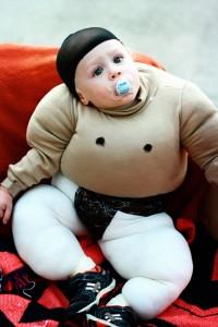 Baby Sumo Wrestler Costume