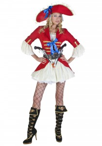 Captain Morgan Costume Women