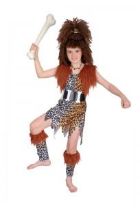 Caveman Costume Kids