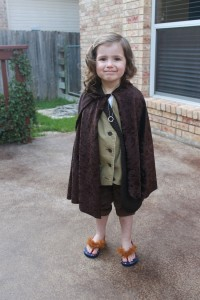 Child Hobbit Costume