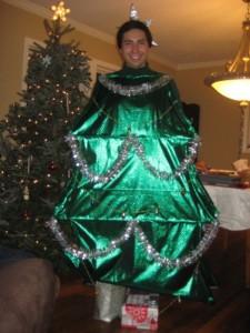 Christmas Tree Costume Homemade