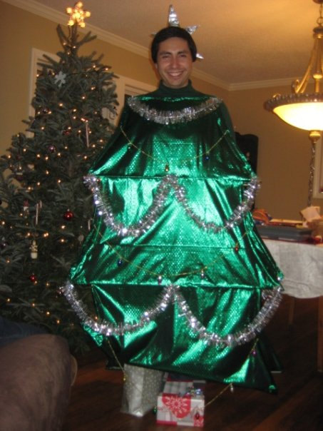 Easy Diy Christmas Tree Costume - Diy (Do It Your Self)
