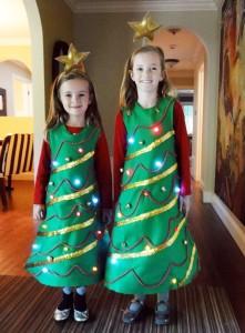 Christmas Tree Costume for Kids