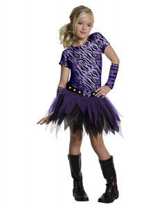 Clawdeen Wolf Costume for Girls
