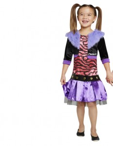Clawdeen Wolf Costume for Kids