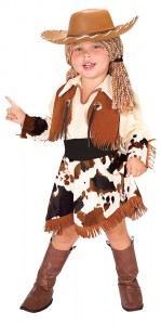 Cowgirl Toddler Costume