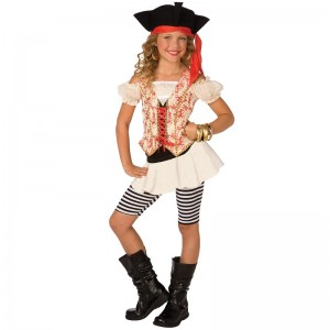 Cute Pirate Costumes for Girls