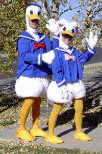 Donald and Daisy Duck Costumes