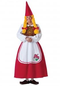 Female Garden Gnome Costume