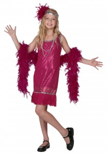 Flapper Dress Costume for Kids