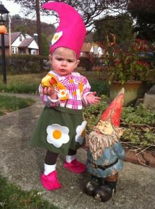 Flower Garden Gnome Costume