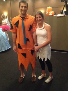 Fred Flintstone and Wilma Costumes