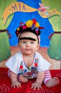 Frida Kahlo Baby Costume