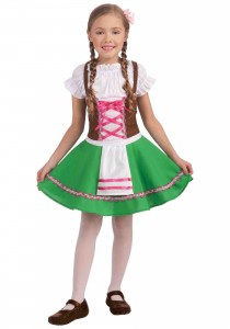 German Costumes for Girls
