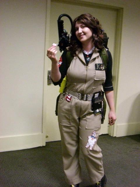 Ghostbusters Halloween Costume Women