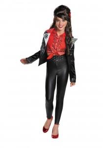 Girl Biker Costume