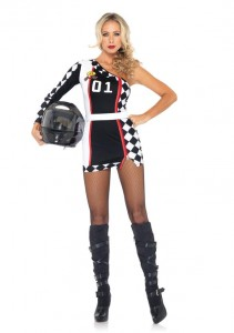 Girl Race Car Driver Costume