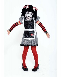 Goth Rag Doll Costume