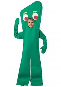 Gumby Costume Kids