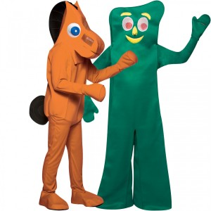 Gumby and Pokey Costumes
