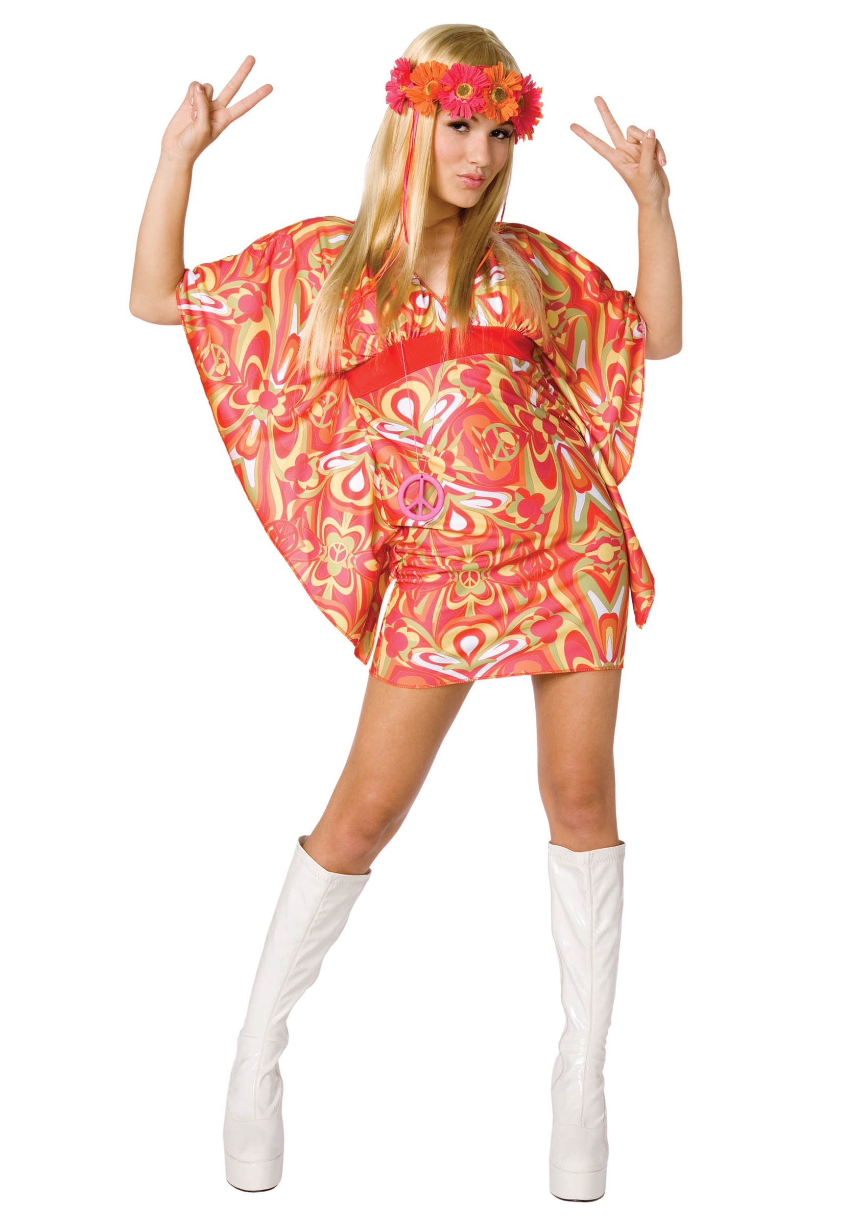 Hippie Costume for Women  sc 1 st  Costumes FC : 60s costumes for girls  - Germanpascual.Com