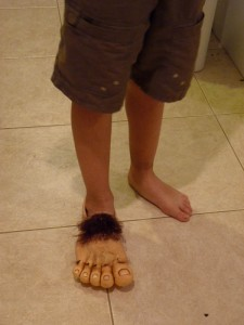Hobbit Feet Costume