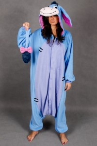 Homemade Eeyore Costume