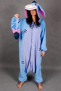 Homemade Eeyore Costume