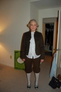 Homemade George Washington Costume