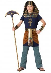 Homemade Pharaoh Costume