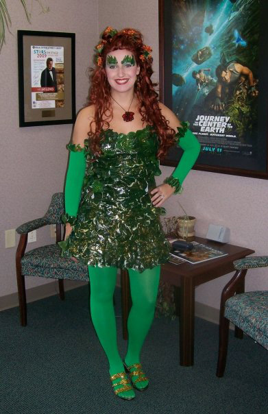 Diy Poison Ivy Costume With Tutu