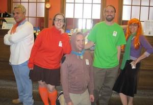 Homemade Scooby Doo Costume