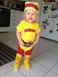 Hulk Hogan Baby Costume