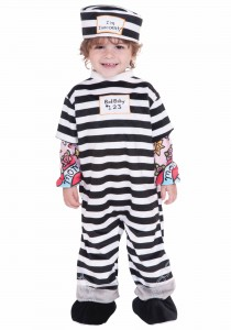 Infant Prisoner Costume